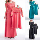 Women Maxi New Girs Dress Cocktail Abaya Islamic Arab Dubai Girls Kaftan Mother
