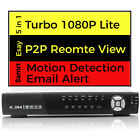AHD CCTV 16CH HD DVR Record 1080P Email Alert P2P Remote Home Security System