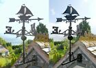 USED Ex-Display Cast Iron Sailboat Weathervanes in Two Colours & Sizes