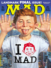 Mad Magazine #550 April 2018 Landmark Final Issue Alfred E Neuman Cool Historic