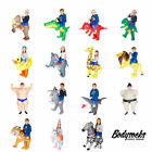 Kids Child Funny Inflatable Blow Up Carry Ride On Costume Outfit Suit Halloween