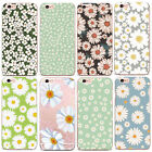 Pretty Daisy Flowers Colourful Fashion Case Hard Cover iPhone 4 5/s 6/s 7 8 X