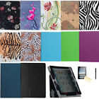 Dual Fold Folio Leather Case Magnetic Smart Cover Stand For iPad 2 3 4 Air 9.7