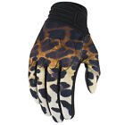 Icon 1000 Cheeter Textile/Leather Women's Motorcycle Gloves