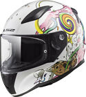 LS2 FF353 RAPID MINI CRAZY POP FULL FACE CHILDS KIDS MOTORCYCLE HELMET JUNIOR