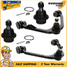 4Pc Set Front Upper Control Arm W/ Lower Ball Joints For Ford F150 Pickup 2WD