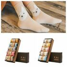 5Pairs High Quality Spring Women Socks Cute Rabbit Giraffe Soft Cotton Socks