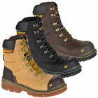 Mens Caterpillar Premier 8 WR TX Composite Toe/Midsole Work Boots Sizes 7 to 12