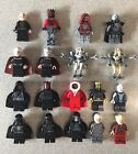 LEGO STAR WARS SITH MINIFIGURES VADER SIDEOUS MAUL GRIEVOUS *GENUINE* YOU CHOOSE £9.99 GBP