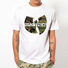 Limited WU TANG CLAN-Camo Soldier camouflage army rap hip hop T-Shirt Size S-5XL
