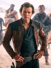 Han Solo A Star Wars Story Brown Distressed Leather Jacket $114.99 USD on eBay