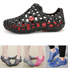 Men's Women's Breathable Slippers Hollow-out Beach Sandals Comfort Hole Shoes
