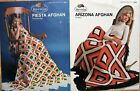 AFGHAN Pillow CROCHET and/or KNIT PATTERNS Leisure Arts Annie