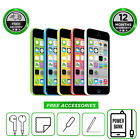 Apple iPhone 5C 8GB 16GB 32GB All Colours Unlocked to All Network Smartphone