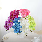 70cm Artificial Silk Butterfly Phalaenopsis Orchid Flower Spray Home Party Decor