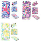 Lilly Pulitzer Design Wallet Leather case for LG G4 p1309
