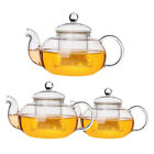 Внешний вид - 800/1000mL Heat Resistant Glass Teapot Infuser Infusing Coffee Tea Leaf Pot