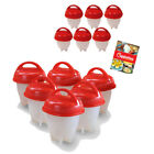 Home Garden - 2018 Newest Egglettes Egg Cooker Hard Boiled Eggs without the Shell 6 Egg Cups