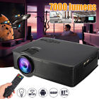 4k hd projector - 4K 1080P HD 3D LED Portable Projector Android WIFI Home Theater HDMI USB