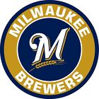 Milwaukee Brewers cornhole board decal 1 set (2 decals)
