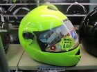 SHARK S900/S700/OPENLINE FLUORESCENT YELLOW MOTORCYCLE HELMET FINAL REDUCTION!!