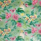 Polly Parrot Tropical Flowers Wipe Clean PVC Oilcloth Table Cloth Cover Vinyl