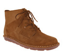 Clarks TAMITHA KEY Womens Dark Tan Suede Lace Up Ankle Boots