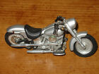 "Miniature Harley Davison Motorcycle Approx. 5""L x 2""W x 2-1/2""T Silver"
