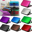 Men Women Metal ID Credit Card Holder RFID Protector Aluminum Wallet Card Case image