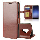 For Samsung Galaxy S9/S9 Plus Flip PU Leather Wallet Case Card Slot Stand Cover