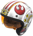 IS-5 STAR WARS X-WING FIGHTER OPEN FACE HELMET ALL SIZES $204.99 USD