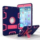 Kids Safe Shockproof Silicone Plastic Hybrid Case Cover For iPad mimi 123