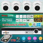 8CH DVR + 1TB HDD 1080P CCTV Outdoor Home Security Dome Camera System Sony 2.4MP