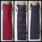 NEW WITH DEFECTS - PAISLEY OR POLKA DOT HANDMADE MOD SCARF VINTAGE STYLE RETRO