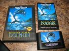 Ecco the Dolphin Sega Genesis Game Cartridge & Original Case & Manual Complete