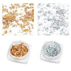 Glitter Aluminum Flakes Magic Mirror Effect Powder Sequin Nail Gel Polish Powder