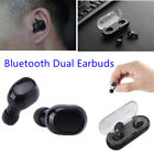 Wireless Bluetooth Earphone Stereo In-Ear Mini Headset For Samsung LG iPhone
