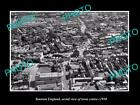 OLD LARGE HISTORIC PHOTO OF TAUNTON ENGLAND, VIEW OF THE TOWN CENTRE c1930 1