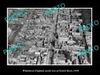 OLD LARGE HISTORIC PHOTO OF WHITEHAVEN ENGLAND, VIEW OF SCOTCH ST & AREA c1930