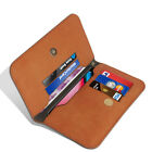 N+ INDIA Universal Wallet Flip Leather Cover Case For Motorola Moto M