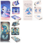 Lilo And Stitch Design Wallet Leather case for phone 5c e0111