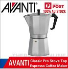 Genuine! AVANTI Classic Pro Stove Top Espresso Coffee Maker! All Size Available photo