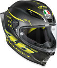 AGV Pista GP R Carbon Full-Face Helmet (Rossi Project 46 2.0 Matte Carbon Fiber) cheap