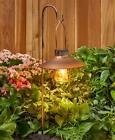 Marine Style Solar Lantern Light Powered Outdoor Lawn Pathway Garden Stake Metal
