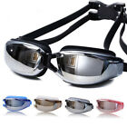 Adults Waterproof Anti-Fog UV Protect Swim Swimming Adjustable Goggles Glasses N