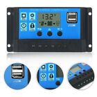LCD Display USB Solar Panel Battery Regulator Charge Controller 10/20/30A 12/24V