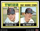 1967 Topps #486 Rich Reese / Bill Whitby - Twins Rookies EX/MT