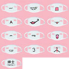 Cute Anime Emotiction Mouth-muffle Kaomoji Anti-Dust Face Mask Kawaii 15Type