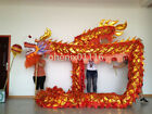 CHINESE DRAGON DANCE Gold plated Folk Festival Celebration Costume For students