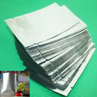 100pcs Foil Pouch Heat Seal Mylar Smell Proof Bags / Storage Bag - Various Sizes
